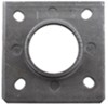 """Trailer Jack Weld-On Swivel Bracket for Dutton-Lainson Jacks with a 3/8"""" Pin and Snap Ring Swivel Plate DL22700"""