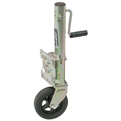 Dutton-Lainson Pull Pin Easy Swivel Trailer Jack with 8 Inch Wheel Side Wind 1500 lbs