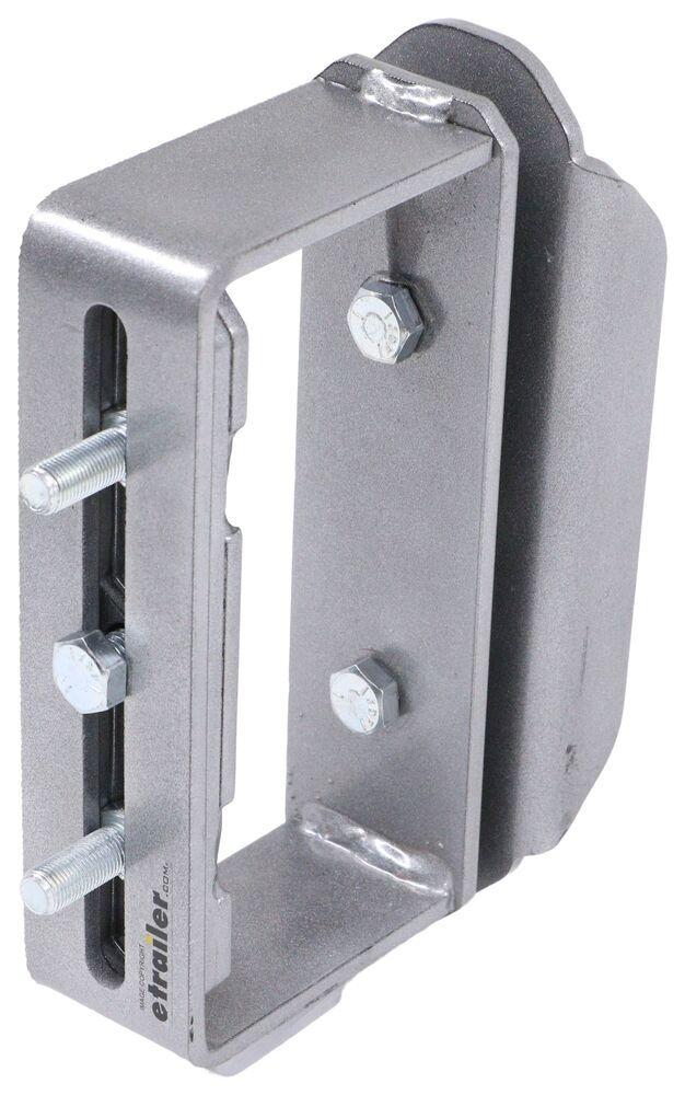 Demco Trailer Stake Pocket Spare Tire Carrier - Silver Universal DM15850-52