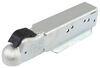 demco straight tongue trailer coupler standard 3 inch channel - zinc 2-5/16 ball bolt on 21k