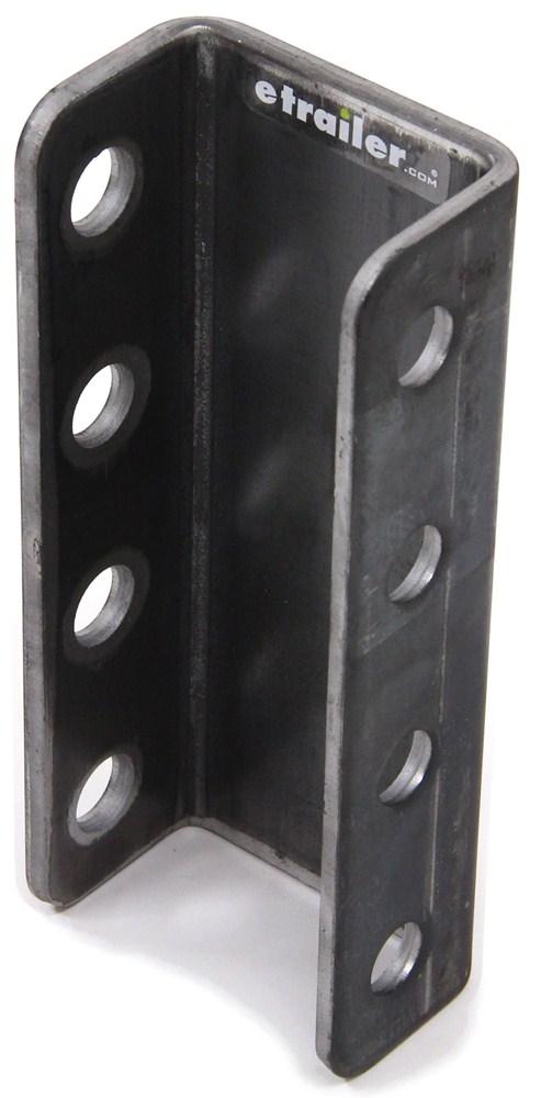 DM55342 - 3 Mounting Positions Demco Adjustable Trailer Coupler,Lunette Ring
