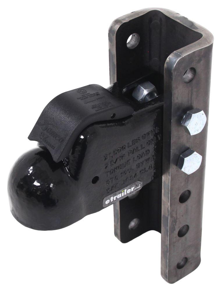 Adjustable Trailer Coupler DM6125-81 - 2-5/16 Inch Ball Coupler - Demco