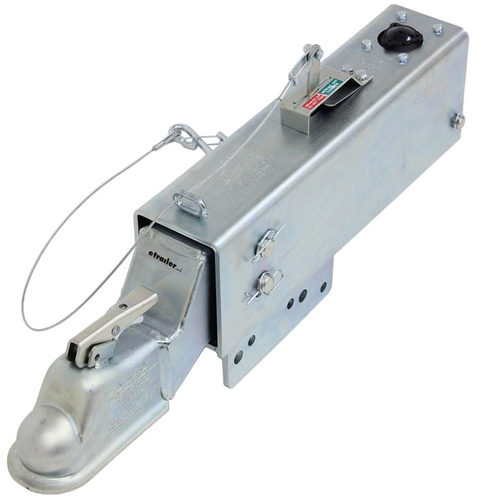 "Demco Hydraulic Brake Actuator w/ Drop - Drum - Zinc - 2-5/16"" Ball - 20,000 lbs 20000 lbs GTW DM8204011"