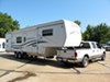 0  fifth wheel hitch demco sliding double pivot hijacker autoslide 5th trailer w/ slider - single jaw above bed 18 000 lbs
