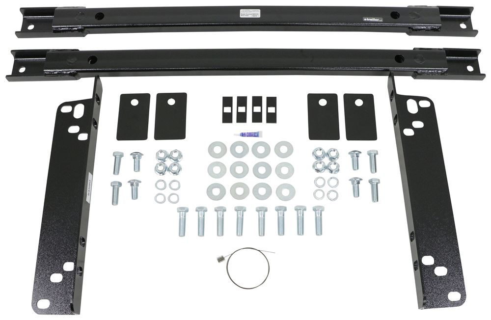 Underbed Rail and Installation Kit for Demco Hijacker UMS 5th Wheel and Gooseneck Trailer Hitches Below the Bed DM8551010