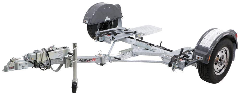 Demco Kar Kaddy SS Tow Dolly with Disc Brakes - Foldable - 4,800 lbs Galvanized Steel DM9713045