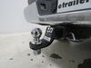 0  trailer hitch ball mount draw-tite 2 inch one drop - rise 3/4 in use