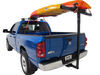 Darby Extend-A-Truck Kayak Carrier w/ Hitch Mounted Load Extender and Single-Bar Roof Rack Load Extenders DTA944-968-924