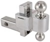Trailer Hitch Ball Mount DTALBM6400-2S - Drop - 4 Inch,Rise - 5 Inch - Fastway