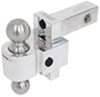DTALBM6400-2S - Class IV,10000 lbs GTW Fastway Trailer Hitch Ball Mount