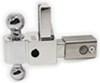 "Self-Locking, Adjustable 2-Ball Mount w Chrome Balls - 2.5"" Hitch - 4"" Drop, 5"" Rise Class V,10000 lbs GTW DTALBM6425"