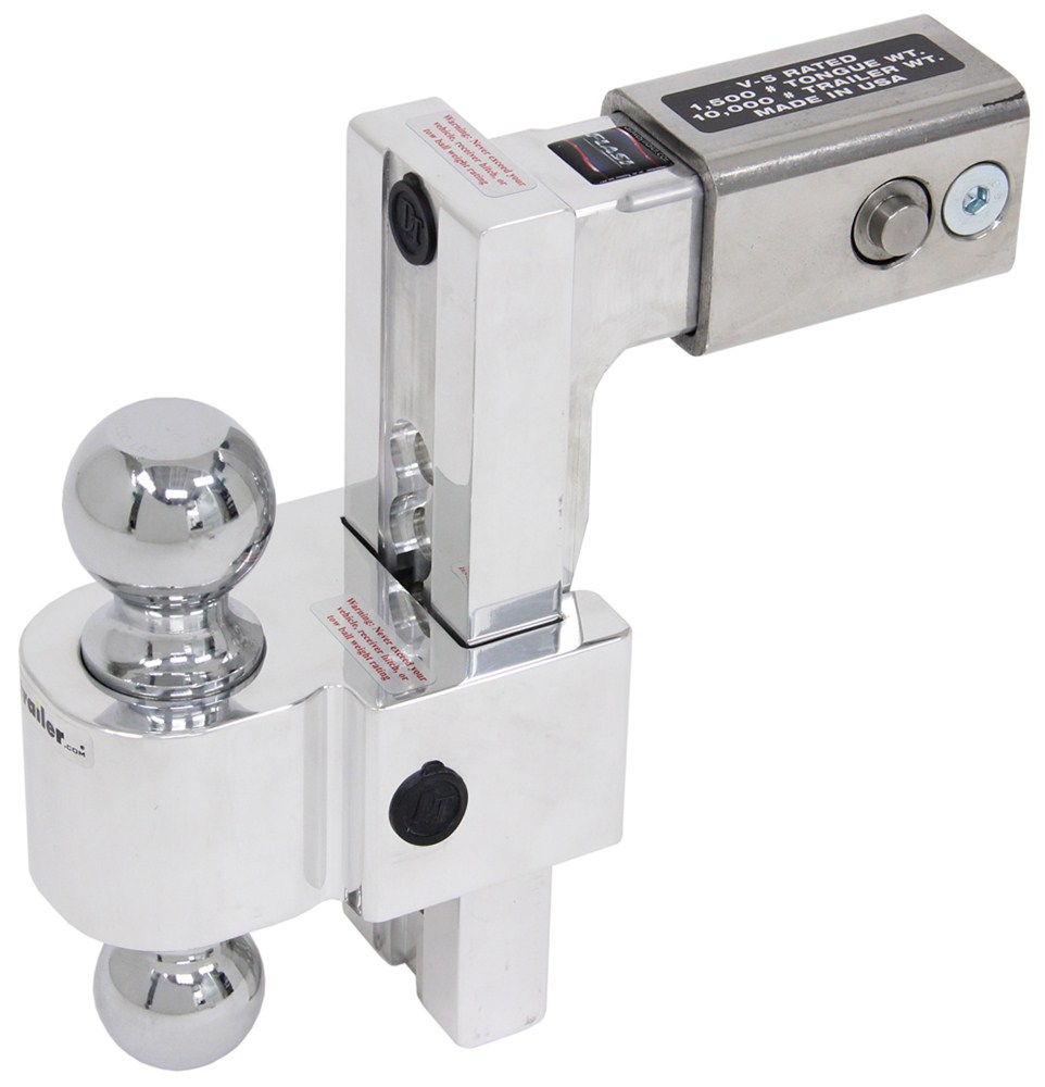 Trailer Hitch Ball Mount DTALBM6825 - Two Balls - Fastway