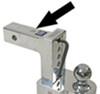 "Solid-Tow Adjustable 2-Ball Mount w Chrome Balls - 2"" Hitch - 4"" Drop, 5"" Rise Fits 2 Inch Hitch DTSTBM6400"