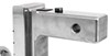 fastway trailer hitch ball mount adjustable class iv 10000 lbs gtw solid-tow 2-ball w chrome balls - 2 inch 10 drop 11 rise