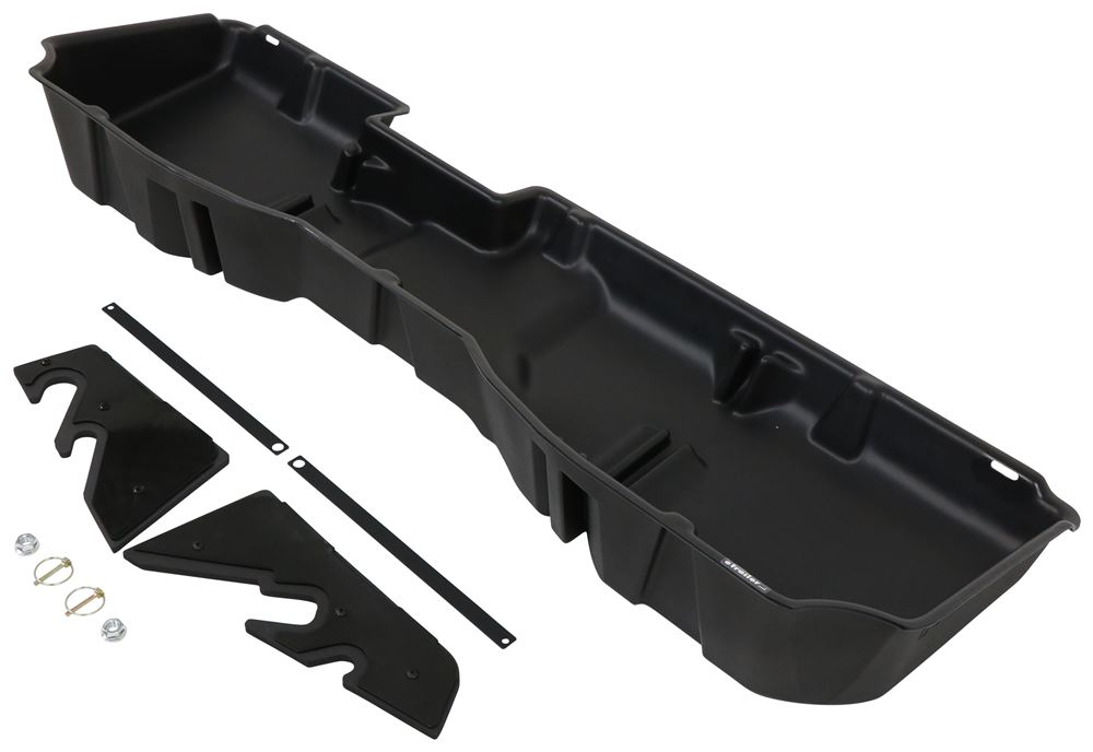 Du-Ha Truck Storage Box and Gun Case - Under Rear Seat - Black Black DU10300