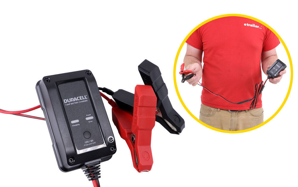 DU87FR - Charges/Maintains Duracell Battery Charger