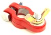 """Battery Terminal - Positive - Red Epoxy-Coated - Brass-Plated Wing Nut - 3/8"""" Stud - Qty 1 Terminals DW05310-1"""