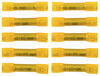 deka accessories and parts wiring butt connectors heat shrink connector - 12-10 gauge nylon insulation yellow qty 10