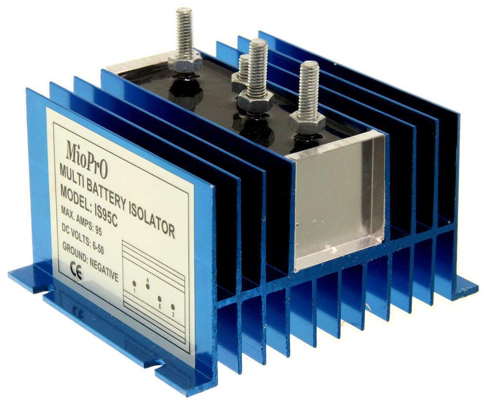 Deka Battery Isolator - 95 Amp Deka Battery Charger DW08770 | Battery Isolator Wiring Diagram No 08770 |  | etrailer.com
