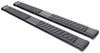 "DeeZee Oval Tube Steps w Custom Installation Kit - 6"" Wide - Black Powder Coated Steel Steel DZ16111-16317"