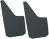 deezee mud flaps drilling required 11 inch wide universal-fit plastic for trucks vans suvs - x 15 front/rear