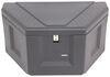 deezee trailer tool box a-frame specialty series tongue - plastic 6 cu ft black