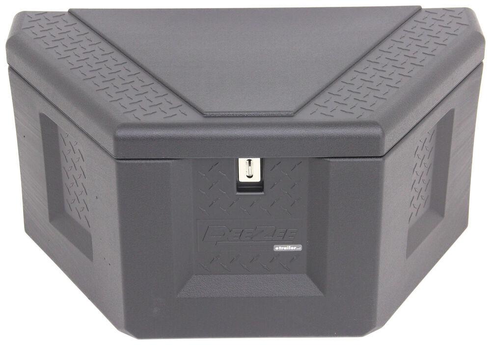 DZ91717P - Plastic DeeZee A-Frame Trailer Tool Box