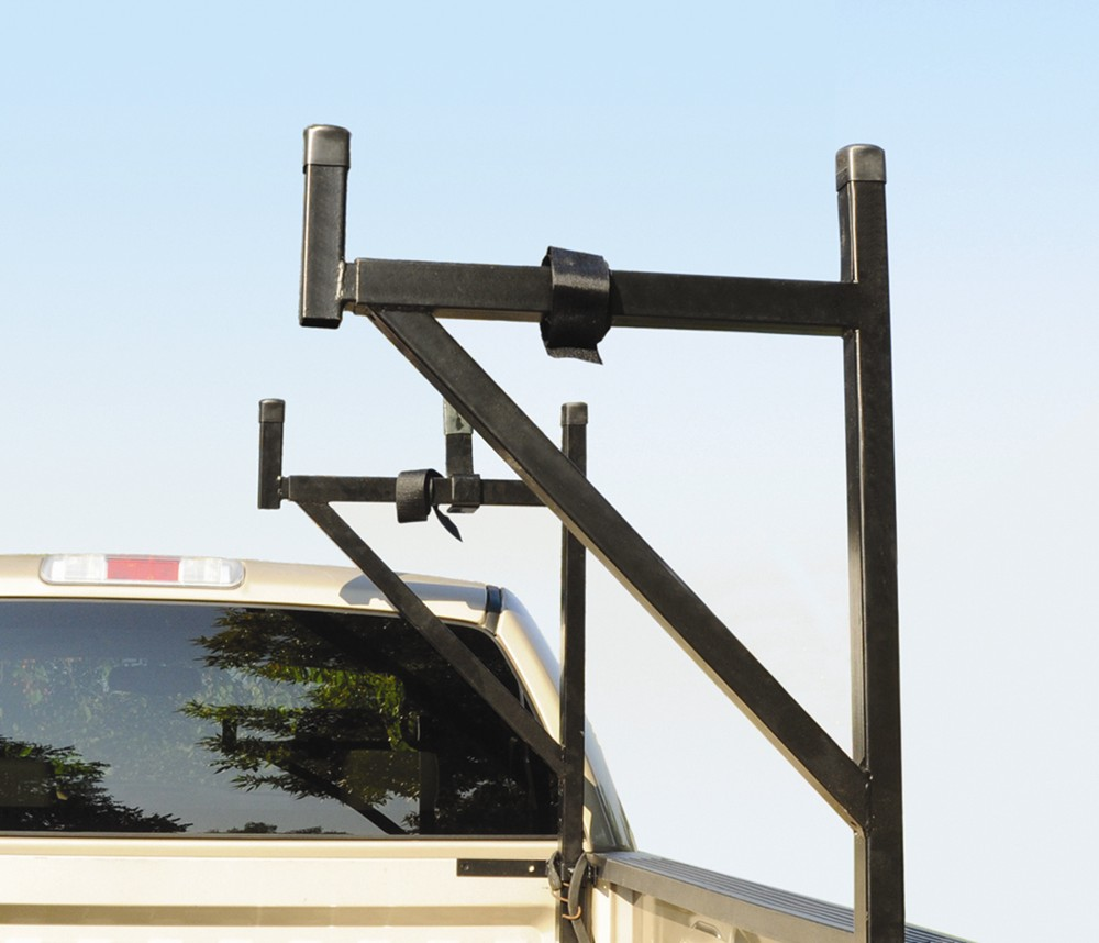 DeeZee Customizable Truck Bed Ladder Rack with Tie-Downs - Side Mount - 200 lbs Steel DZ95053