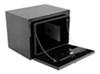 deezee trailer cargo organizers toolbox specialty series underbody tool box - steel 4.5 cu ft black