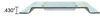 erickson e-track rails horizontal - zinc plated steel 2 000 lbs 5' long qty 1