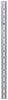 etrailer e-track rails vertical - galvanized steel 2 000 lbs 5' long