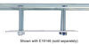 0  accessories and parts etrailer tie down anchors e-track backing plate w/ hardware - galvanized steel 6 inch long x wide qty 1