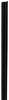 etrailer e track rails vertical e-track - black powder coated steel 2 000 lbs 5' long