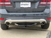"etrailer Trailer Hitch Receiver - Custom Fit - Matte Black Finish - Class III - 2"" 400 lbs TW E98845 on 2018 Dodge Journey"