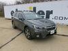 "etrailer Trailer Hitch Receiver - Custom Fit - Matte Black Finish - Class III - 2"" 600 lbs TW E98847 on 2019 Subaru Outback Wagon"
