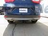 2018 honda cr-v trailer hitch etrailer custom fit receiver - matte black finish class iii 2 inch
