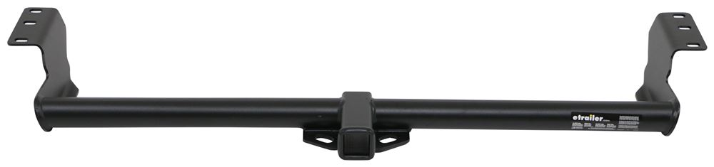 "etrailer Trailer Hitch Receiver - Custom Fit - Matte Black Finish - Class III - 2"" 525 lbs TW E98855"