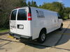etrailer 1200 lbs WD TW Trailer Hitch - E98861 on 2018 Chevrolet Express Van