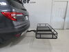 "24x60 etrailer Cargo Carrier for 2"" Hitches - Steel - Tilting - Folding - 500 lbs 60 Inch Long E98874 on 2019 Honda Pilot"