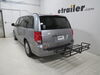 """20x48 etrailer Off Road Cargo Carrier for 2"""" Hitches - Steel - 500 lbs 20 Inch Wide E98875 on 2019 Dodge Grand Caravan"""