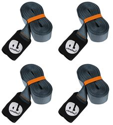 Powertye 1/½ x 48 Adjustable Heavy-Duty Long Cinch Strap with Hook and Loop Closure 1 Strap