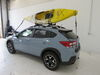 2019 subaru crosstrek watersport carriers etrailer fishing kayak clamp on j-style carrier - folding universal mount