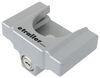 "etrailer Trailer Coupler Lock for Flat Lip 1-7/8"" and 2"" Ball Couplers - Aluminum - Silver Universal Application Lock E98893"
