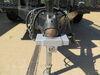 0  trailer coupler locks etrailer surround lock for flat lip 2-5/16 inch ball - aluminum silver