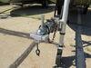 0  trailer coupler locks etrailer surround lock fits 2-5/16 inch ball for flat lip - aluminum silver