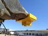 0  trailer coupler locks etrailer surround lock fits 2-5/16 inch ball for flat lip - aluminum yellow