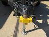 0  trailer coupler locks etrailer surround lock - flat lip 1-7/8 inch and 2 ball couplers aluminum yellow