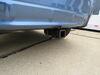 2019 subaru crosstrek trailer hitch etrailer custom fit receiver - matte black finish class iii 2 inch