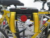 0  hitch bike racks etrailer hanging rack tilt-away on a vehicle