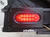 etrailer License Plate and LED Tail Light Mounting Kit for Hitch Mounted Cargo Carrier Light Kit E98943-44LED